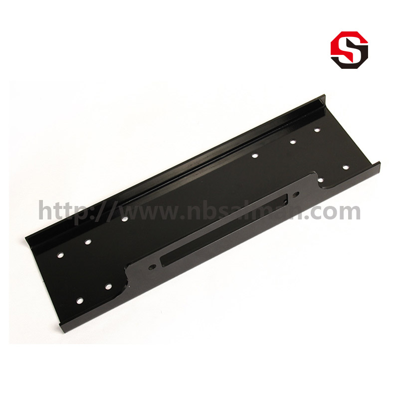 Short Winch Mounting Plate